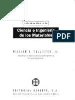 W. CALLISTER  Introduccion a la ciencia de los materiales.pdf