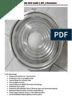 LVD Light 200 Watt ( AC ) Complete via Email