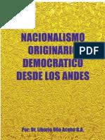 Uño, Liborio. NACIONALISMO ORIGINARIO
