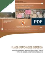 Plan de Operaciones de Emergencias Distrito de Tres Unidos