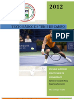Tenis de Campo Texto Básico