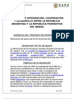 TRATADO DE INTEGRACIÓN