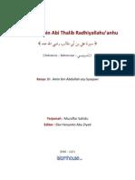 Biografi Ali Bin Abi Thalib Ra