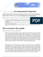 White Paper - Video Quality_AcceptTV
