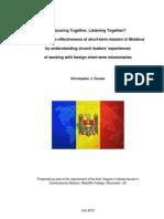 Short-Term Mission in Moldova (Chris Ducker)