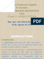 Clase 2 Agricultura