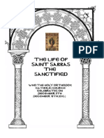 The Compiled Life of Saint Savvas the Sanctified