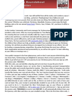 London Silicon Roundabout Weekly Newsletter 23 November 2012