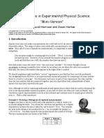 3 - Error Analysis (Mini)