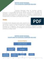 Propuesta Programa C.D.M. PAN Querétaro 2012 2015