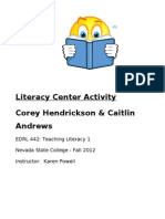 HendricksonCorey LiteracyCenterFinal EDRL442 FA12