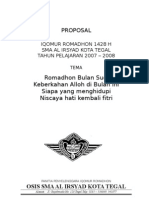 Proposal Pesantren Romadhon 1428