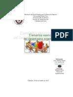 Informe Elementos Del Desempeno Organizacional, Equipo Amatista