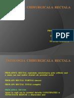 Patologia rectului