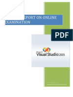 Online Examination System in .NET & DB2