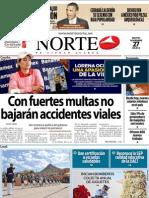 Periodico Norte de Ciudad Juárez 27 de Noviembre de 2012
