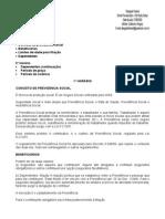 Direito Previdenciário - 01ª Aula - 27.08.2008