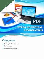 Day 4_Types of Med Info