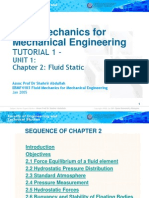 EBMF4103 (Chapter 2) Fluid Mechanics for Mechanical Engineering
