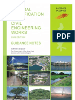 General Specification for Civil Engineering Works (GS), 2006 Edition - Guidance Note
