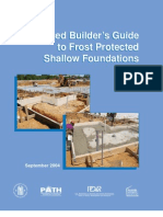 A Builder's Guide to Frost Protected Shallow Foundations