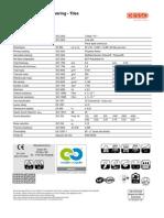Menda Pro Tech Sheet