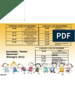 ALMAGRO PROGRAMACION1 (2) ACTIVIDADES DE LOS NIÑOS