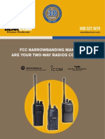 2011/2012 Two-Way Radio Narrowbanding Guide
