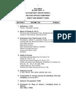 M.com.Part - II - Sec.I - Direct Taxes