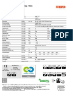Pure Spec Sheet