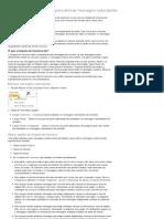 Usar a Limpeza de Conversa Para Eliminar Mensagens Redundantes - Outlook - Office