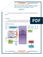 Design of Ultra Low Cost Cell Phone Based Embedded System for Irrigation----ieee