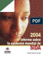 informe sobre la epidemia mundial de sida - 2004 - onusida