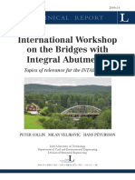 International Workshop Bridges Integral Abutments LTU-TR-0614-SE