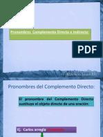 05 Pronombres Complemento Directo e Indirecto