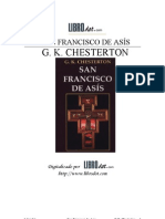 Chesterton San Francisco de Asis