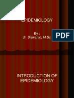 Epidemiology i