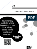 What's on in Haringey Libraries in  December 2012