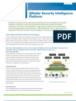 Qradar Security Intelligence Platform Total Intelligence and Visibility for Todays Security Challenges