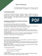 Bilan Des Cours_histoire de Pharmacie_2_12 Novembre 2012