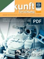 Zukunft Forschung 02/12 - Das Forschungsmagazin der Universität Innsbruck
