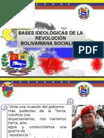 Bases Ideologicas de La Revolucion Bolivariana Socialista