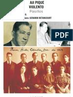 AJI PIQUE - EL VIOLENTO. Pasillos. Carlos Viecco O. Transc. para piano Gerardo Betancourt.