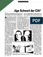 Das blutige Schwert der CIA (Spiegel, 1990)
