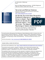 ###C.macauley-Do Suicide Terrorists Have Personality Problems (Literature Review)(2010)