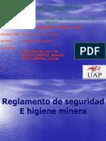 Higiene y Seguridad Minera