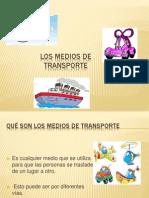 Presentacion Medios de Transporte