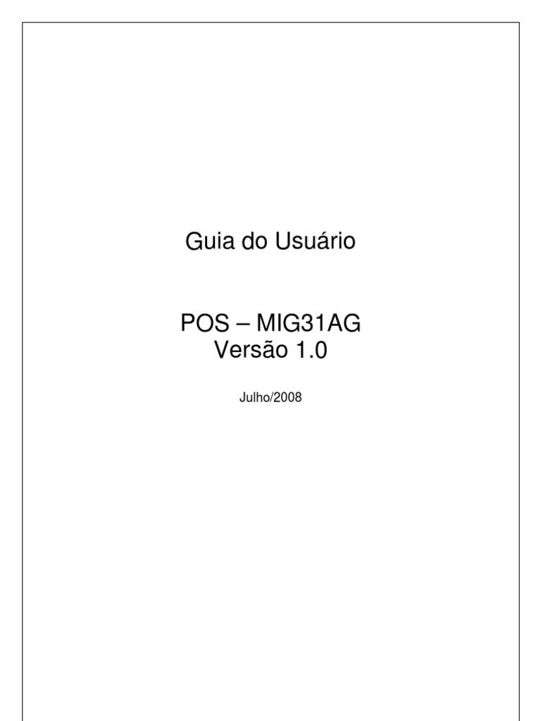 Manual pos mi945aa