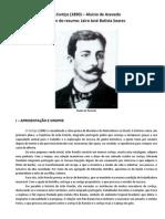 (Artigo) Resumo - Aluisio Azevedo - O Cortico - Aluisio Azevedo - O Cortico.pdf