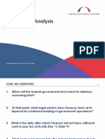 Debt Limit Analysis